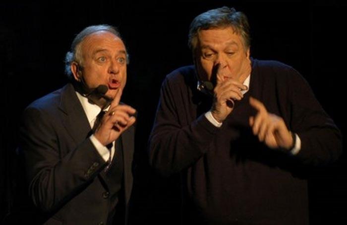 """Cochi e Renato: """"Siamo sempre in giro in cerca del'ombrella"""""""