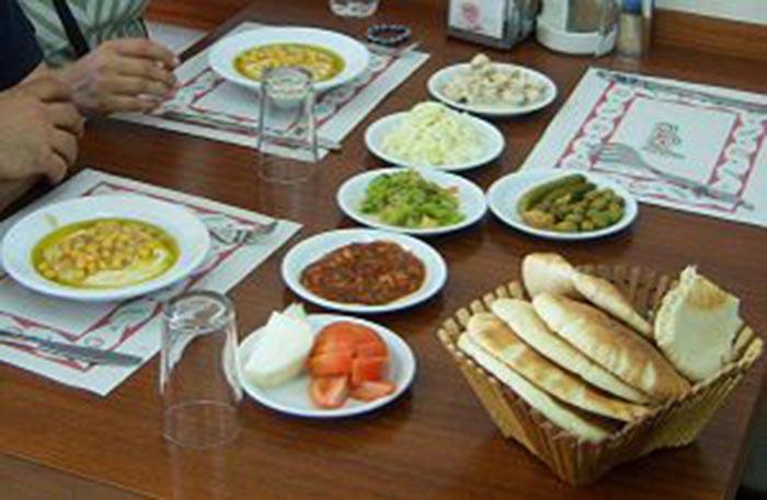 Israele, cena in famiglia