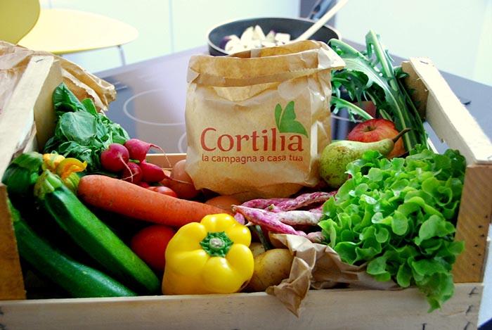 Cortilia, la  campagna arriva a casa