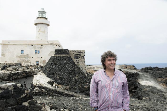 """Stefano D'Orazio: """"Pantelleria mi ha scelto, ora è il mio luogo del cuore"""""""