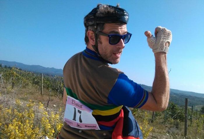 """Massimo Poggio: """"In bici ogni luogo diventa magico"""""""