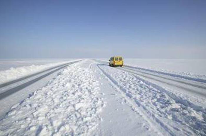 Estonia, un rigido inverno all'aria aperta