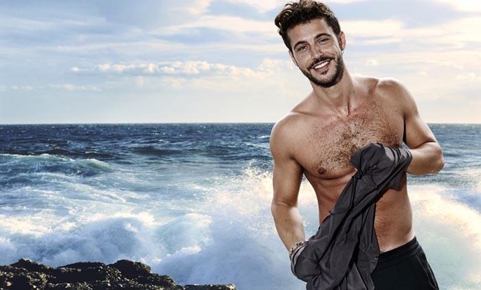 """Andrea Montovoli: """"Appena posso vado ad ascoltare il mare"""""""