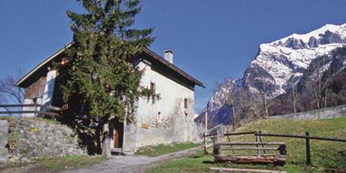 Maienfeld, a casa di Heidi
