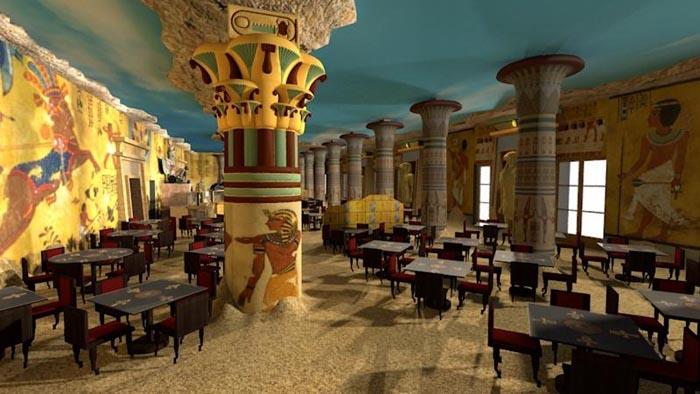 Gardaland, sapori egiziani al Tutankhamon Restaurant