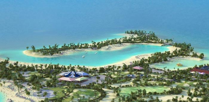 MSC, al via i lavori per l'isola caraibica privata
