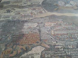 Mappa di Terrasanta