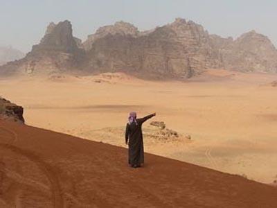 L'immensità del Wadi Rum