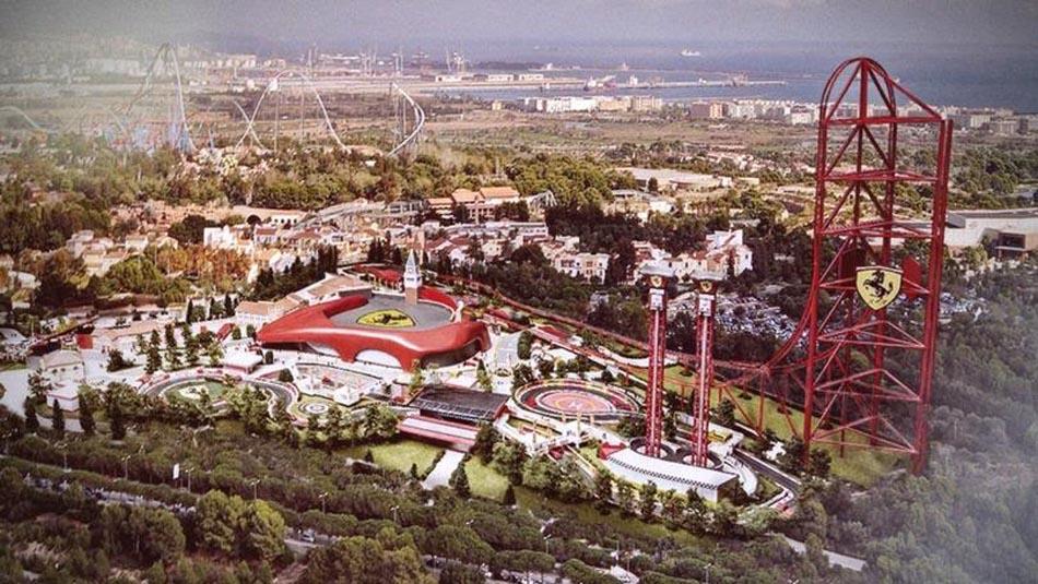 Spagna, arriva Ferrari Land, parco divertimenti dedicato alla Ferrari