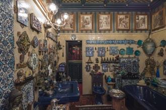 Il Vittoriale - La stanza da bagno ph Marco Beck Peccoz