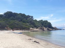 Porquerolles spiaggia