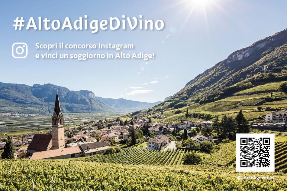 #AltoAdigeDiVino, un contest Instagram per wine lovers