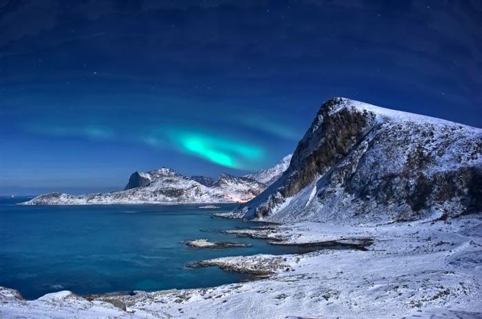 Kaamos, lo spettacolo del lungo inverno artico