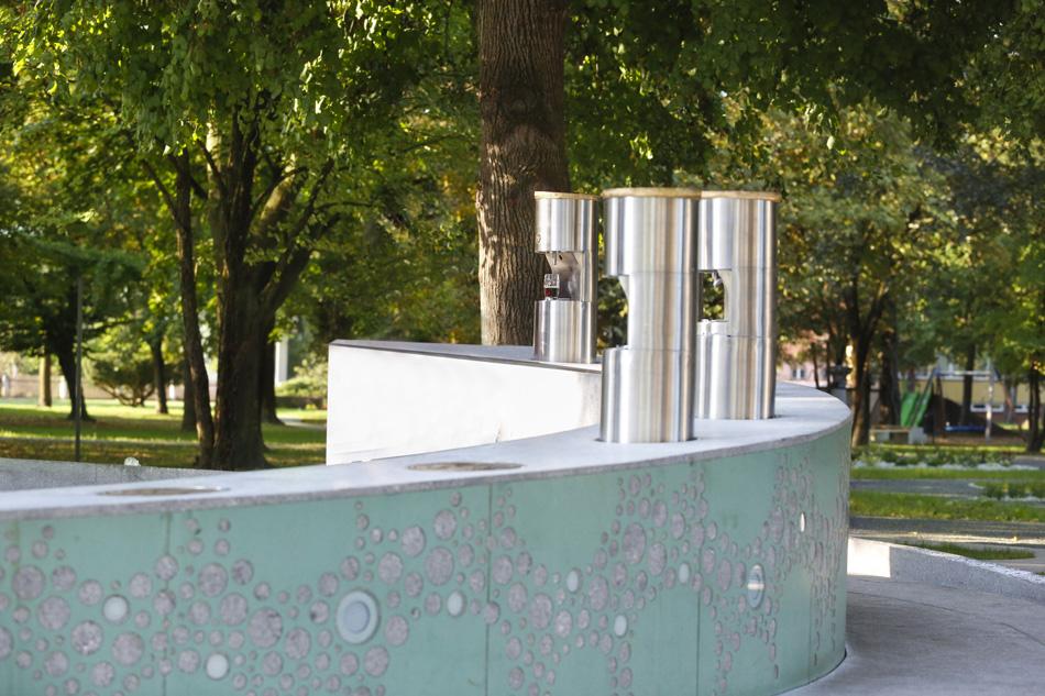 In Slovenia arriva la fontana della birra