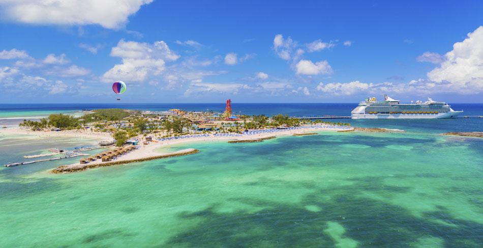 Royal Caribbean inaugura alle Bahamas la sua isola privata